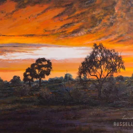 Southern Sunset - Wenba Station, New South Wales